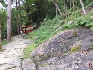 石畳の参道(神倉神社)