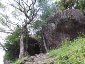 ゴトビキ岩(神倉神社)