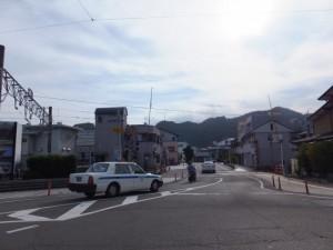 JR紀勢本線 新宮駅付近の踏切