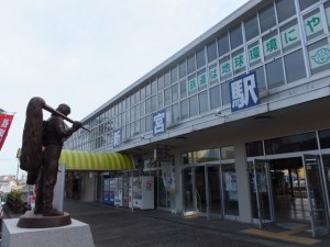 JR紀勢本線 新宮駅