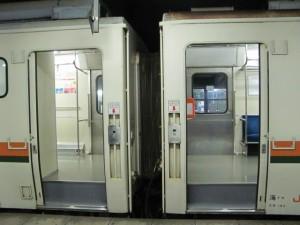乗車してきた17:46発の新宮発多気行の普通列車