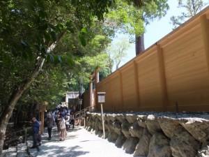 新宮の板垣と板垣北御門(内宮)