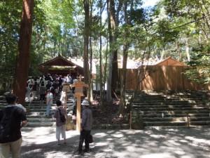 現行の荒祭宮と新造された殿舎