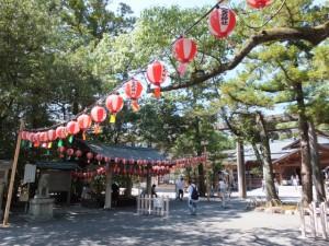 佐瑠女神社 例祭の準備(猿田彦神社)