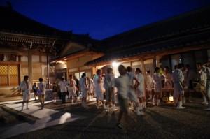 ねり、大念仏行事(西方寺)