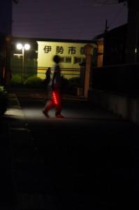 ねり、大念仏行事(西方寺付近)