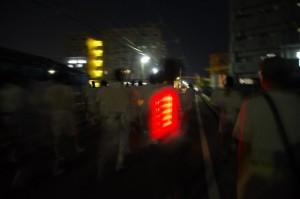 ねり、大念仏行事(西方寺~上條児童公園)