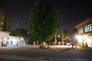 大念仏行事(上條児童公園、公民館)
