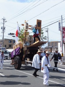 お白石持行事 外宮奉献(曽祢町)