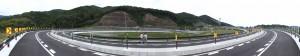 第二伊勢道路開通記念ウォーク会場へ(鳥羽南・白木IC)