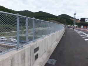 第二伊勢道路開通記念ウォーク会場へ(白木本線橋)