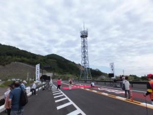 第二伊勢道路開通記念ウォーク(スタート会場)