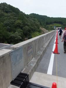 第二伊勢道路開通記念ウォーク(堀通川橋)