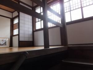 階段と二階(鳥羽大庄屋かどや)