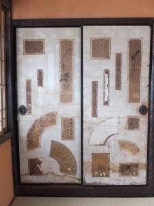 2階、京都様式赤壁の客間(鳥羽大庄屋かどや)
