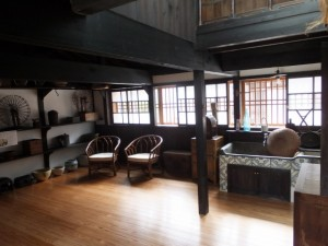 1階、台所(鳥羽大庄屋かどや)