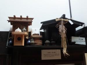 1階、神棚(鳥羽大庄屋かどや)