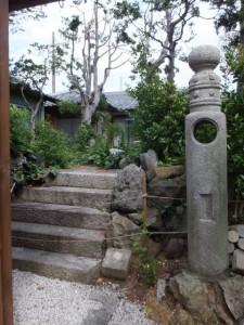津波からの避難場所(鳥羽大庄屋かどや)