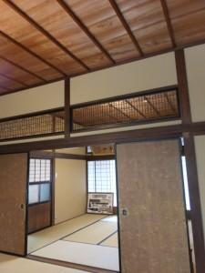 1階、座敷(鳥羽大庄屋かどや)