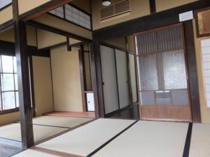1階、両替所として利用されていた部屋(鳥羽大庄屋かどや)