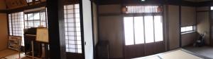 1階、座敷から両替所として利用されていた部屋(鳥羽大庄屋かどや)