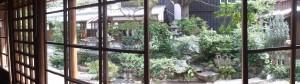 中庭(鳥羽大庄屋かどや)