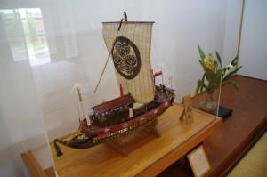 「御座船 虎丸」の模型(山田奉行所記念館)