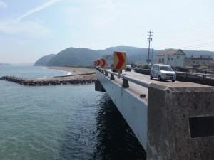 国道42号線 江の橋(五十鈴川派流)