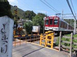 近鉄 踏切道 志摩赤崎第八号付近
