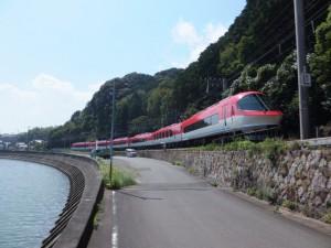 近鉄 船津駅へ向かう伊勢志摩ライナー