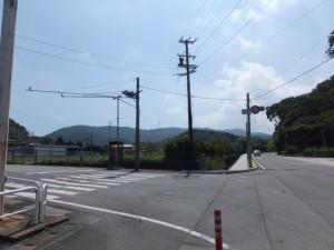 国道167号 松尾交差点