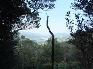 松尾道(青峯山登山口〜正福寺)、あまかぼうか岩付近からの眺望