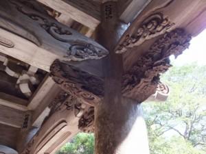 青峯山正福寺の山門