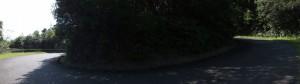 近畿自然歩道(青峯山正福寺〜近鉄 上之郷駅)、ヘアピンカーブの繰り返し