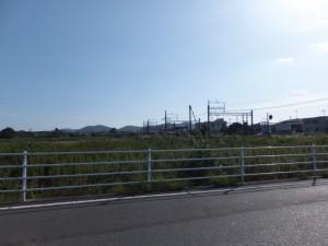 近鉄 上之郷駅付近