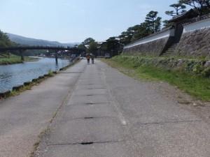 神宮道場付近から新橋方向を望む(五十鈴川)