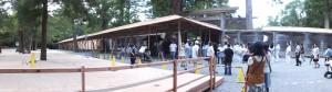 第62回神宮式年遷宮 遷御の儀に向けた準備がさらに進む外宮