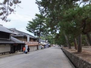 東大寺への参道