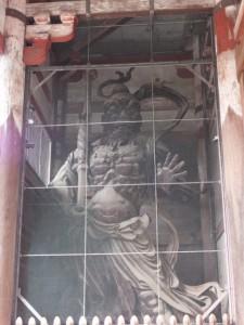 金剛力士(仁王)像(阿形)(東大寺南大門)