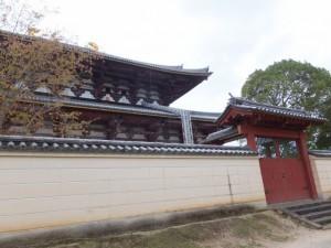 大仏殿の北側(東大寺)