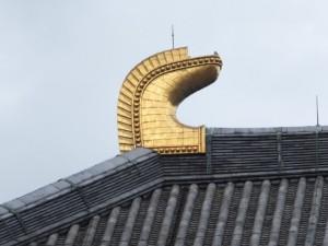 大仏殿の鴟尾(東大寺)