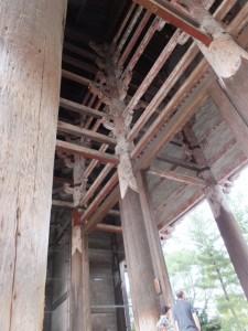 南大門の柱ほか(東大寺)