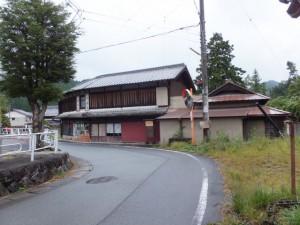 奥津宿(伊勢本街道)