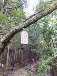 飼坂峠の登り口〜腰切地蔵(伊勢本街道)