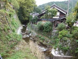 新田橋から望む平谷川(伊勢本街道 多気宿)