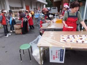津市歴史健康ウォーク 「食」のおもてなし つきたて餅のふるまい