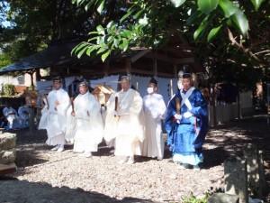 遷座祭 八幡神社(鳥羽市船津町)