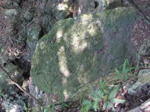 白滝さんの弘法岩(これかは不明?)