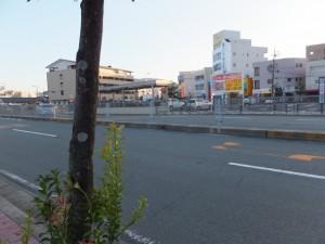 駐車場になった伊勢市駅前のJOY CITY(三交百貨店)跡地
