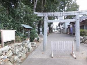 相鹿上神社(多気町相可)